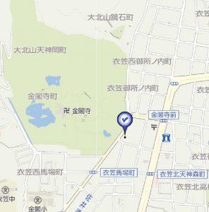 京都府京都市北区衣笠街道町周辺の地図 - Yahoo!地図